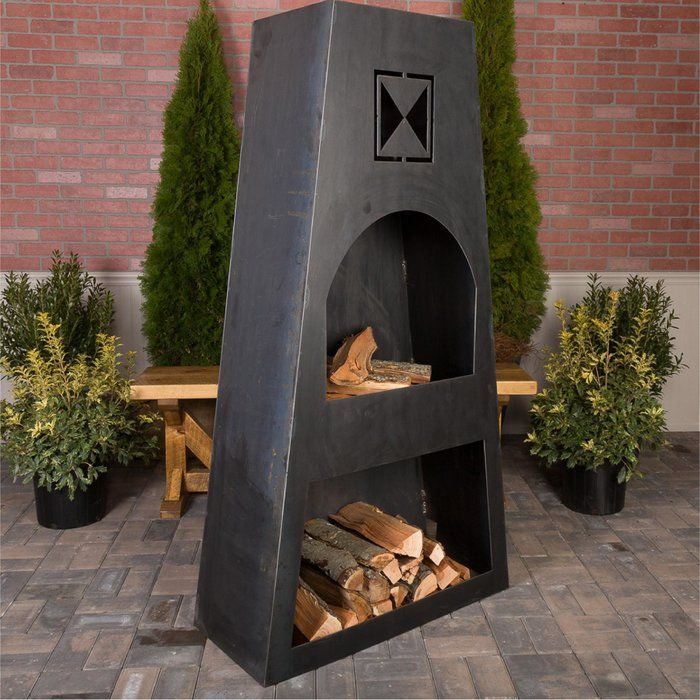 Fire Knight Steel Wood Burning Outdoor Fireplace Custom Fire Pit Outdoor Fire Pit Designs Outdoor Fire Pit Table