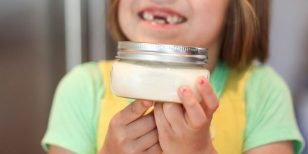 How to Make Butter with Your Kids - BabbaCo