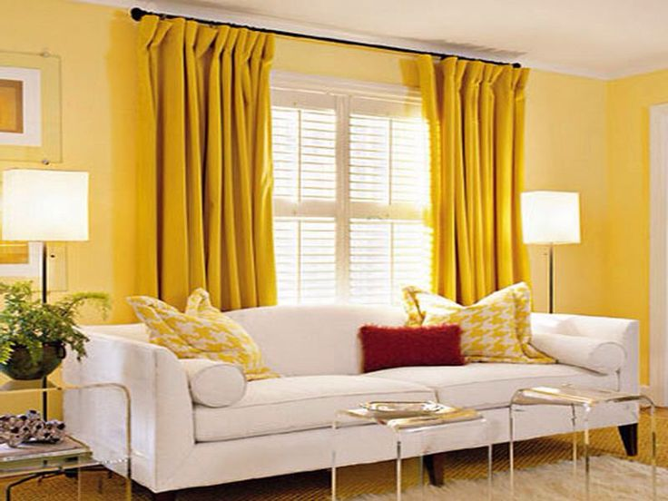 What Color Curtains Go With Yellow Walls. Enlarge With What Color ...