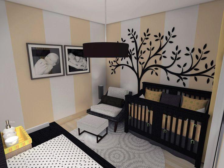 Decorando o quarto do bebê - limaonagua