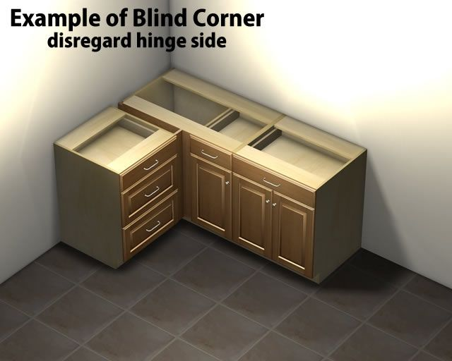 Best Blind Corner Upper Cabinet Kitchen Cabinets Pictures 400 x 300