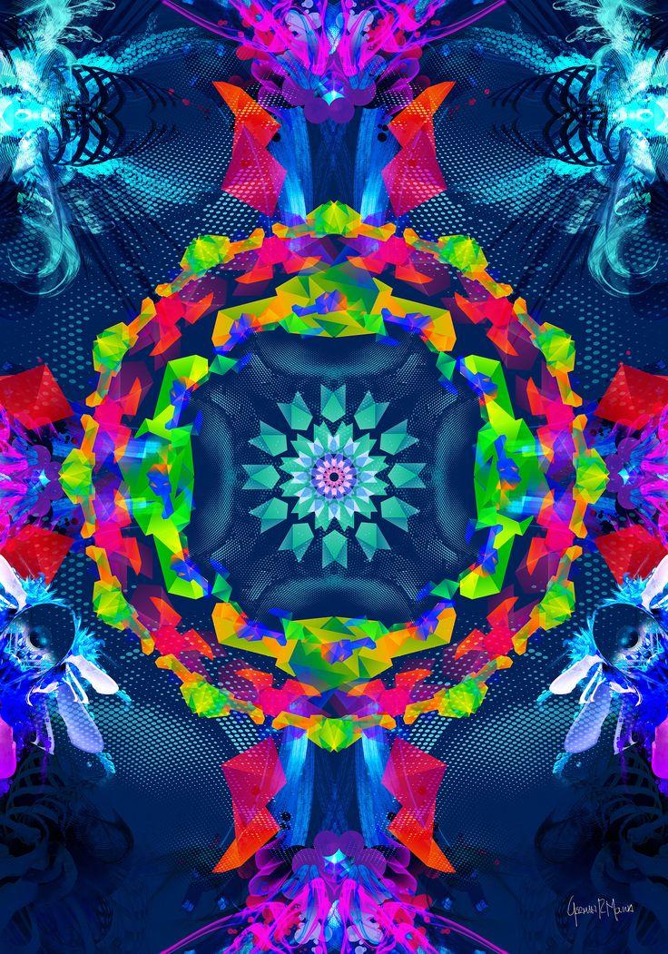 >>Multiverse<< Arte Digital German Molina - Tamaño 100 x 70 cms - Papel Fotográfico sobre soporte de madera - Disponible:  germanadvision@icloud.com