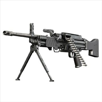 Light Machinegun MG43 3D Model-   Originally modelled in cinema4D 9.5 The textures are mostly made with bodypaint.  Detailed enough for close-up renders. The zip-file contains bodypaint textures and standard materials.Inside scene c4d:-model -skydom �materials -texturesFeatures: - Model is fully textured with all materials applied. - All textures and materials are included. - No cleaning up necessary, just drop your models into the scene and start rendering.- No special plugin needed to open…
