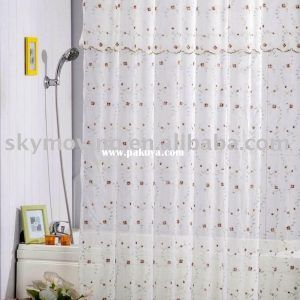 lime green shower curtain liner