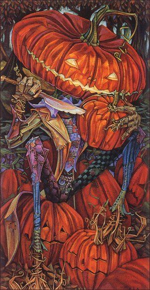 Halloween, Witch, Goblin, Black Cat, Jack-O-Lantern, Bat, Skull, Ghost, Spooky, Full Moon, Pumpkin, Trick or Treat, Autumn, Fall, Haunted, Scarecrow, Magic Potion, Creepy, Spells, Ghouls - Christopher Aja: