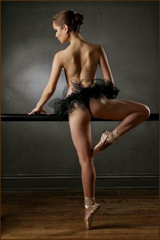 Black and white photography sexy ballerinas