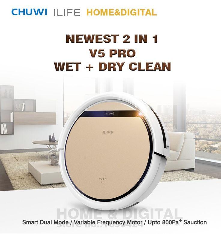 Smart Wet Robot Vacuum Cleaner