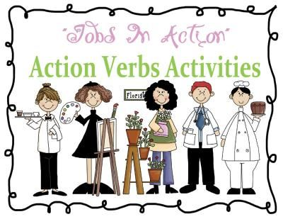 Más de 25 ideas increíbles sobre Verb activity en Pinterest Noun - what is an action verb