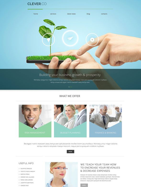 50+ Bestseller WordPress Responsive Business Themes 2014