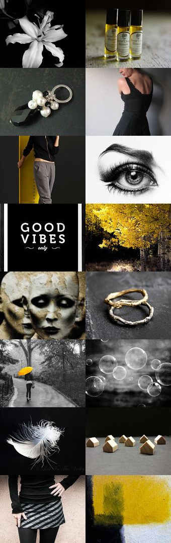 good vibes only by kim on Etsy--Pinned+with+TreasuryPin.com