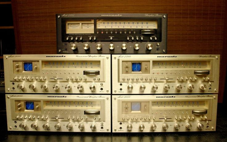 Vintage Marantz short stack | Vintage Stereo Equipment ...