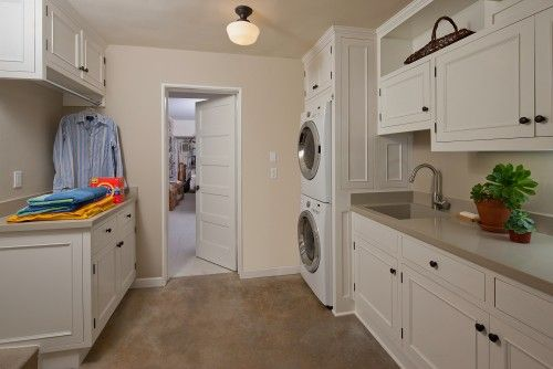 Laundry traditional laundry room