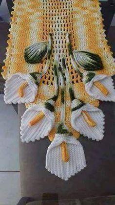 Luty Artes Crochet: Flor copo de leite de crochê
