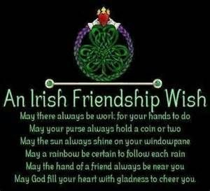 Irish Birthday Blessings for Friends - Bing Images
