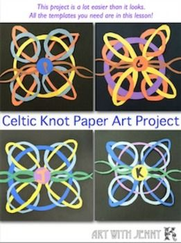In this lesson you will get templates and instructions--everything you need to create these stunning, unique Celtic knot paper art designs.
