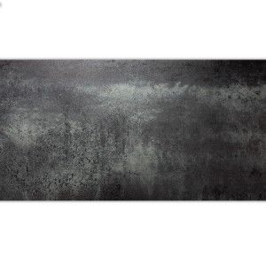 Feinsteinzeug Bodenfliese Surfer Metall Optik Silber 30x60cm