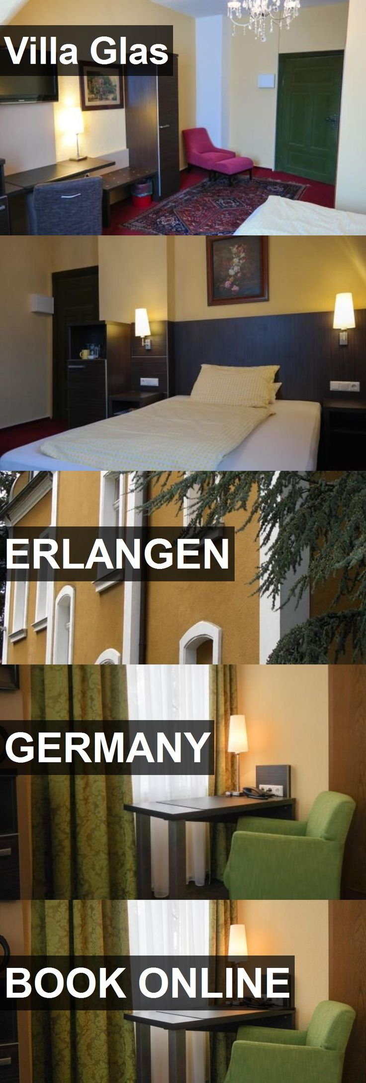 Hotel Villa Glas in Erlangen, Germany. For more information, photos, reviews and best prices please follow the link. #Germany #Erlangen #VillaGlas #hotel #travel #vacation