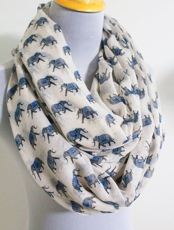 Hey, I found this really awesome Etsy listing at http://www.etsy.com/listing/157043112/elephant-infinity-scarf-elephant-animal