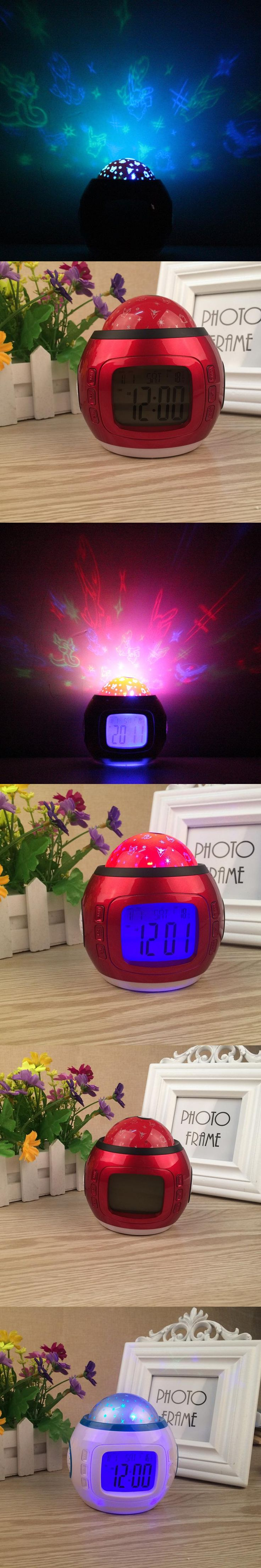 Best 25 small clock ideas on pinterest clocks scandinavian small clock color change multipurpose digital led projector kids alarm clock nightlight electronic small clock amipublicfo Images