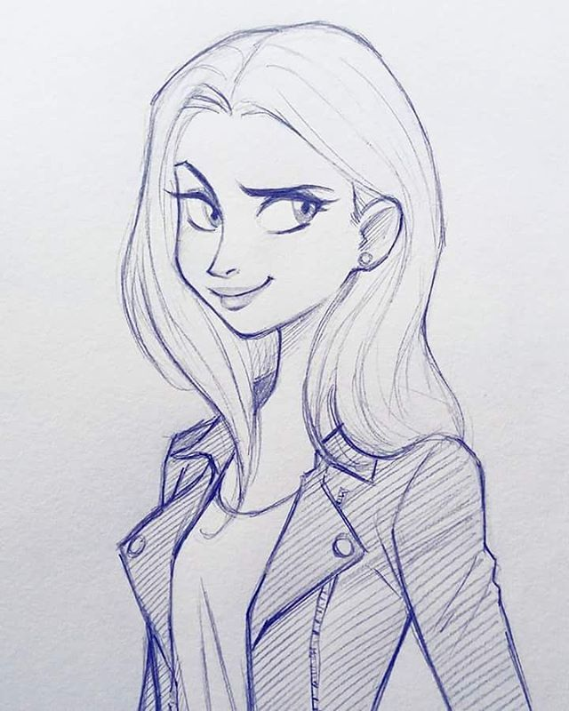 Best 25 pretty girl drawing ideas on pinterest for Pretty sketches