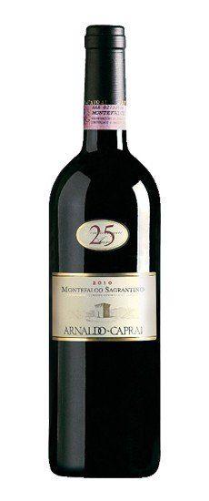 """Sagrantino di Montefalco """"25 anni"""" Caprai 2011"""
