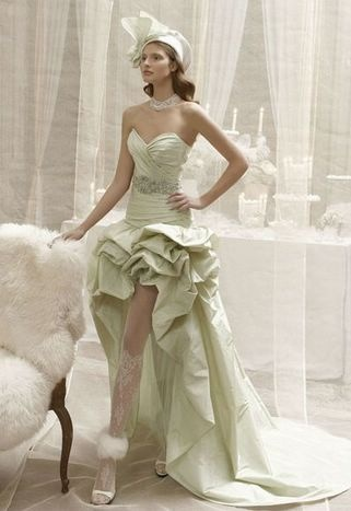 83 best ITALIAN wedding dresses:short & long, with slit, dual ...