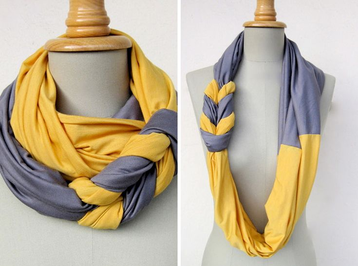 How to Make Braided Scarf