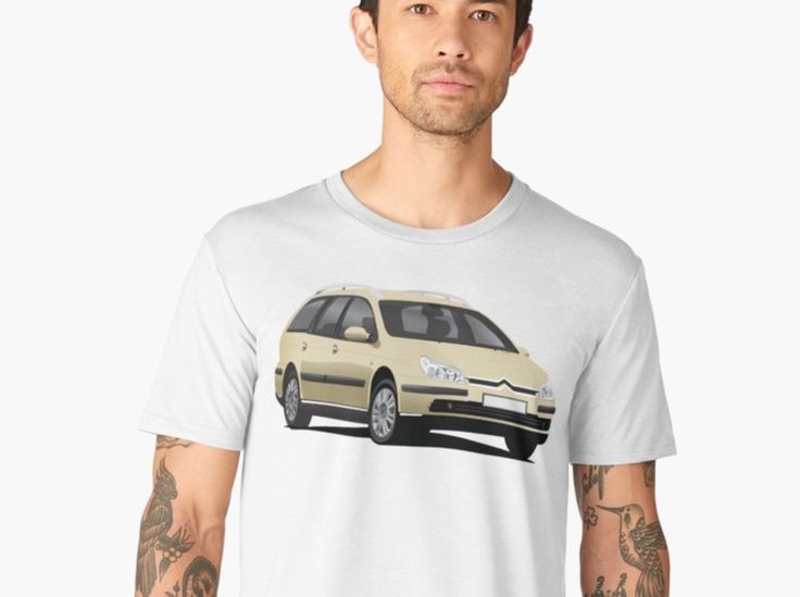 CItroen C5 Break t-shirts and gifts.  #citroenc5 #citroënc5 #citroen #citroën #frenchcars #automobiles #auto #cars #familycar #break