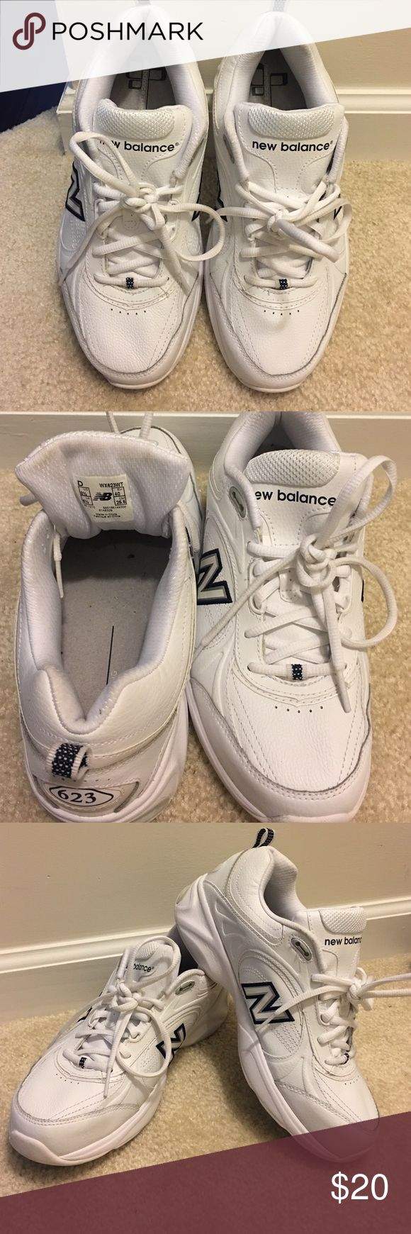 NEW BALANCE 623 Women White NEW BALANCE 623 Sneakers New Balance Shoes Athletic Shoes