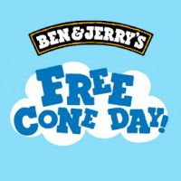 Are you going to get your free ice cream on Ben & Jerry's #FreeConeDay?