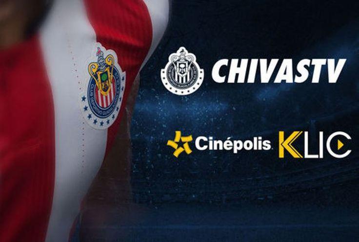 Chivas TV ya se puede ver a través de Cinépolis Klic