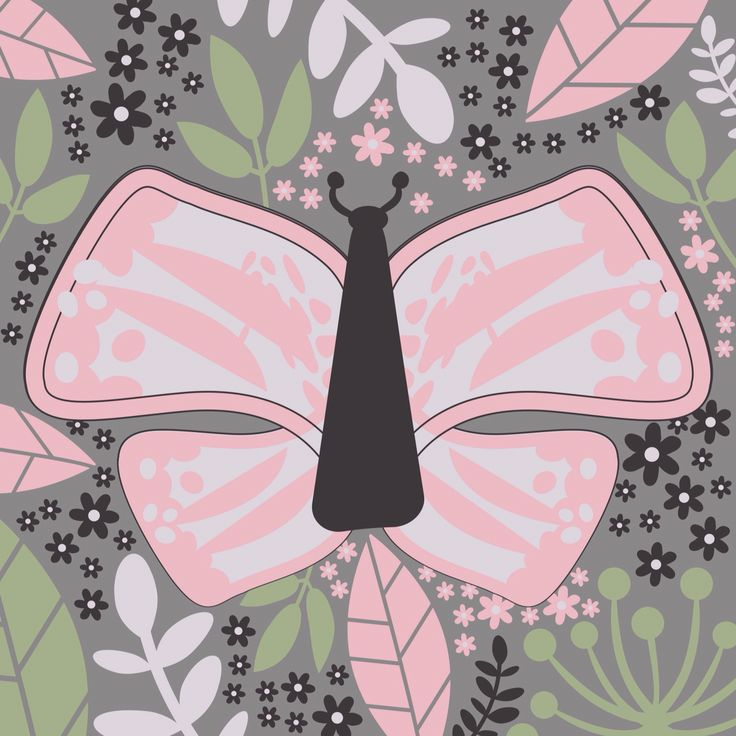 Design by Tine Rønberg butterfly