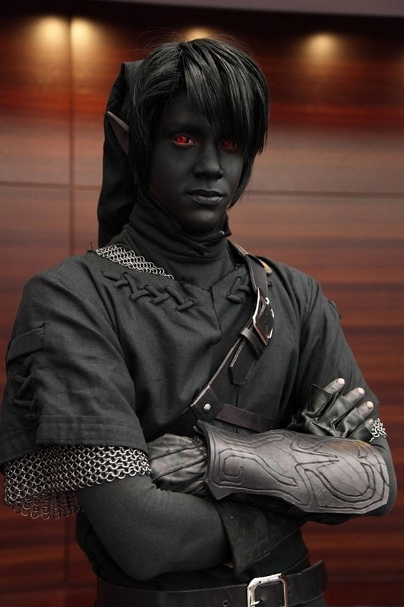 Is this seriously a Dark Link costume??