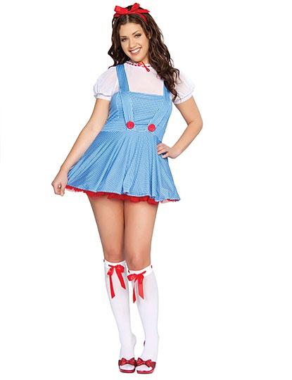 Plus Size Adult Kansas Girl Costume