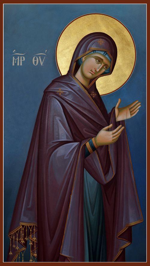 """Παναγία Δεομένη / Theotokos Deomene (""""Praying"""")"""