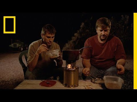 Doomsday Prepper Tips: Can Stove | Doomsday Preppers - YouTube
