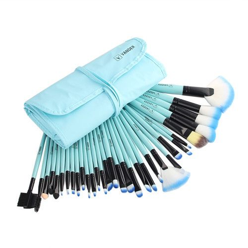 10/32 Piece Vander Professional Cosmetics Brush Make Up Tool Kits