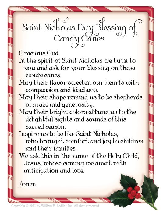Celebrating Saint Nicholas Day - includes printable Saint Nicholas Day blessing #advent #Christmas #Catholic