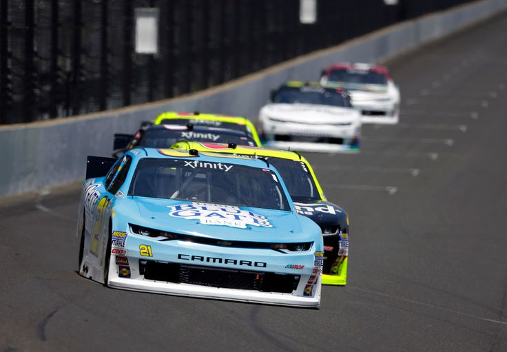 William Byron holds off Paul Menard to win NASCAR Xfinity Series race at Indy