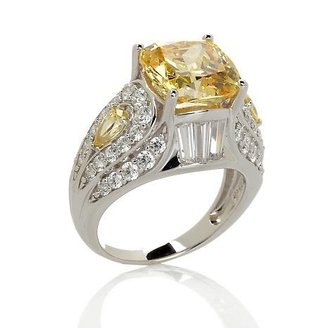 Round Carat Pink Sapphire Ring Hsn