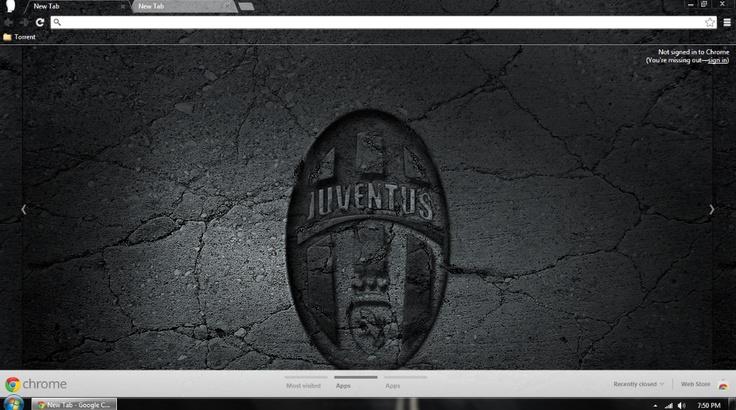 Juventus Chrome Theme