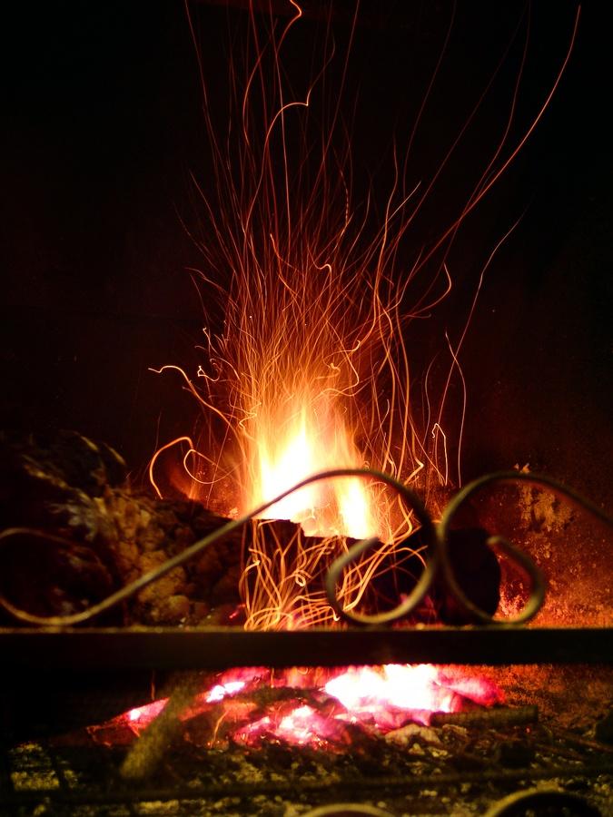 Flaming Wizard - My Digital Shots