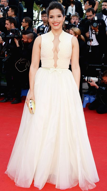 The Best of the 2014 Cannes Film Festival Red Carpet - America Ferrera from #InStyle