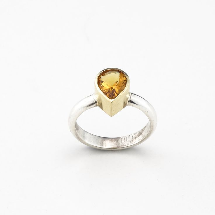 A personal favorite from my Etsy shop https://www.etsy.com/listing/185983099/citrine-ring-natural-stone-ring-orange. #SupportHandmade #etsy #entrepreneurship #NaturalCitrine