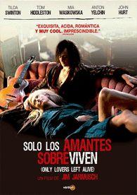 Sólo los amantes sobreviven (2013) Reino Unido. Dir.: Jim Jarmusch. Fantástico. Romance. Drama -- DVD CINE 2370