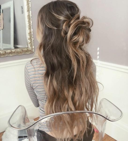 25 gorgeous messy bun tutorials ideas on pinterest messy hair how to style long hair messy bun tutorial urmus Gallery
