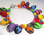 Very Colourful Sunny Bracelet - Inspired by Donna Kato