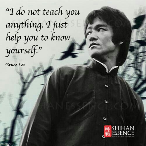 Bruce Lee Martial Artist Quotes