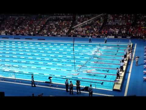 Phelps vs. Lochte (400IM Finals) - 2012 Olympic Swimming Trials