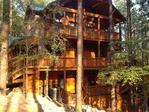 1000 images about tulsa for Falls lake cabin rentals